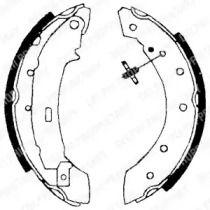 Барабанні гальмівні колодки DELPHI LS1717.