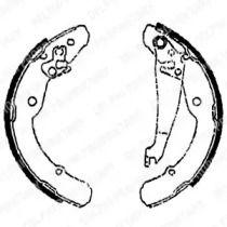 Барабанні гальмівні колодки DELPHI LS1784.