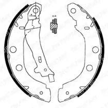 Барабанні гальмівні колодки DELPHI LS1828.