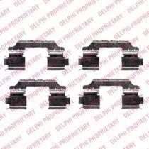Скоби гальмівних колодок на Мерседес Гл Клас  DELPHI LX0426.