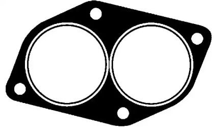 Прокладка приймальної труби на Деу Есперо VICTOR REINZ 71-25865-00.