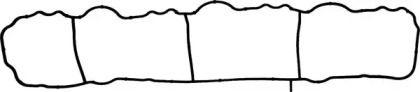 Прокладка впускного колектора на Мерседес ГЛК  VICTOR REINZ 71-40436-00.