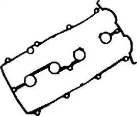 Прокладка клапанної кришки на MAZDA MX-6 VICTOR REINZ 71-52861-00.
