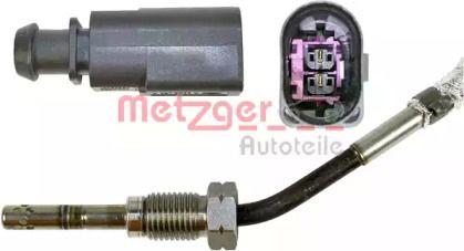 Датчик температуры выхлопных газов на Фольксваген Пассат 'METZGER 0894011'.