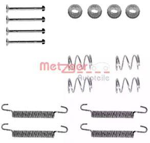 Ремкомплект барабанных тормозов 'METZGER 105-0791'.