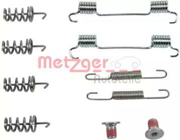 Ремкомплект барабанних гальм на Mercedes-Benz GLK  METZGER 105-0874.
