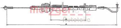 Тросик газа на Фольксваген Гольф METZGER 11.082.