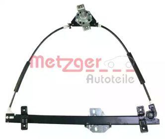 Передний правый стеклоподъемник на Фольксваген Гольф 'METZGER 2160006'.