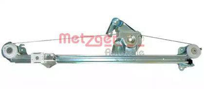 Задній правий склопідйомник на Mercedes-Benz W210 METZGER 2160024.