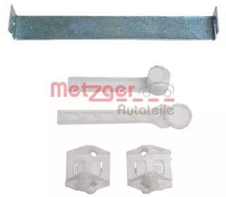 Передний стеклоподъемник на VOLKSWAGEN GOLF 'METZGER 2160037'.