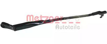Рычаг стеклоочистителя правый на VOLKSWAGEN PASSAT 'METZGER 2190071'.