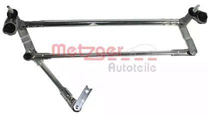Трапеция стеклоочистителя на SKODA OCTAVIA A5 METZGER 2190180.