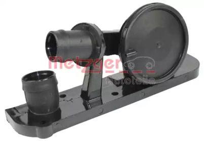 Клапан вентиляции картерных газов на VOLKSWAGEN PASSAT METZGER 2385009.