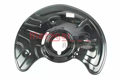Захисний кожух гальмівного диска на Mercedes-Benz E-Class  METZGER 6115015.