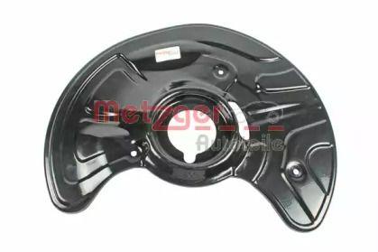 Захисний кожух гальмівного диска на Мерседес Е Клас  METZGER 6115016.