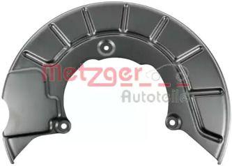 Защитный кожух тормозного диска на Фольксваген Пассат 'METZGER 6115030'.