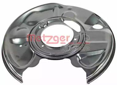 Захисний кожух гальмівного диска на Мерседес Е Клас  METZGER 6115034.