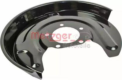 Защитный кожух тормозного диска на VOLKSWAGEN PASSAT 'METZGER 6115051'.