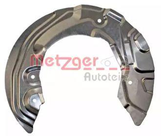 Захисний кожух гальмівного диска 'METZGER 6115064'.