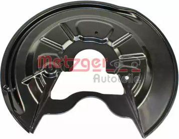 Защитный кожух тормозного диска на Шкода Октавия А5 'METZGER 6115082'.