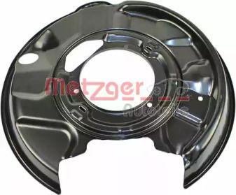 Захисний кожух гальмівного диска на Mercedes-Benz E-Class  METZGER 6115101.