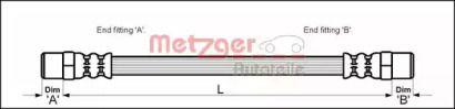 Гальмівний шланг METZGER 4111351.