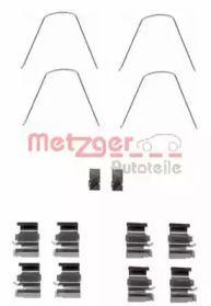 Скоби гальмівних колодок на MAZDA MX-5 'METZGER 109-1651'.