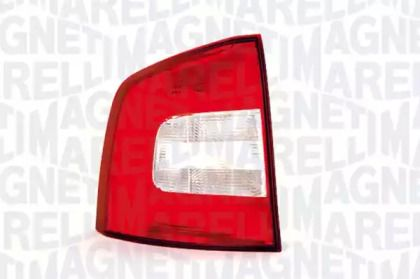 Задний левый фонарь на SKODA OCTAVIA A5 'MAGNETI MARELLI 714021701701'.