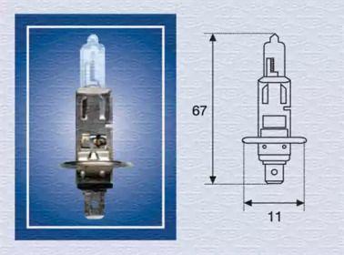 Лампа фари 'MAGNETI MARELLI 002551100000'.