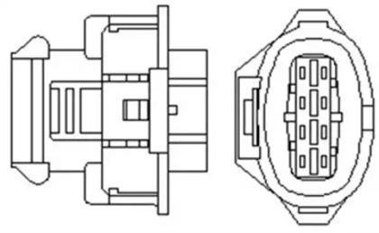 Лямбда зонд на SAAB 9-3 MAGNETI MARELLI 466016355089.