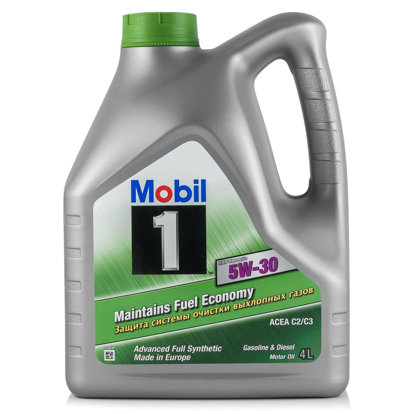 Моторне масло 1 ESP 5W-30 5W-30 4 л MOBIL 152053.