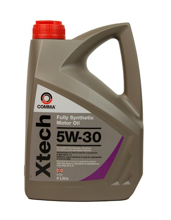 Моторне масло XTECH 5W-30 4 л COMMA XTC4L.