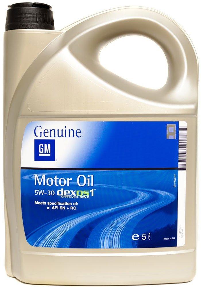 Моторне масло DEXOS 1 GEN 2 5W-30 5 л 'GM 95599877'.