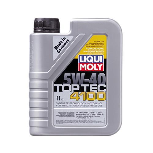 Моторное масло TOP TEC 4100 5W-40 1 л 'LIQUI MOLY 7500'.