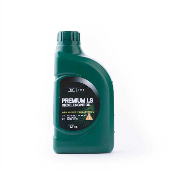 Моторное масло PREMIUM LS DIESEL 5W-30 1 л на VOLKSWAGEN GOLF 'HYUNDAI/KIA 05200-00111'.