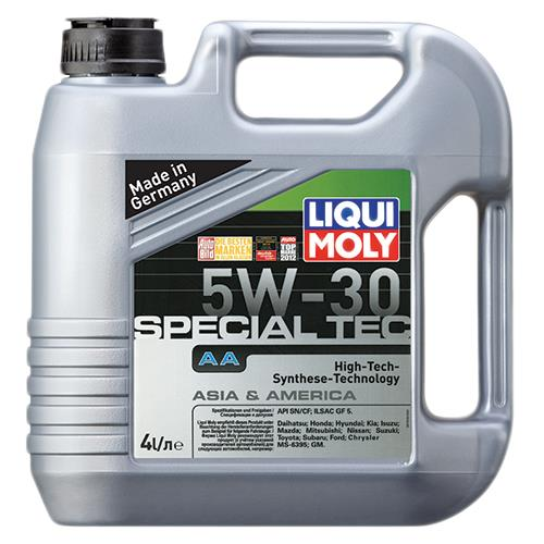 Моторное масло LEICHTLAUF SPECIAL AA 5W-30 4 л 'LIQUI MOLY 7516'.