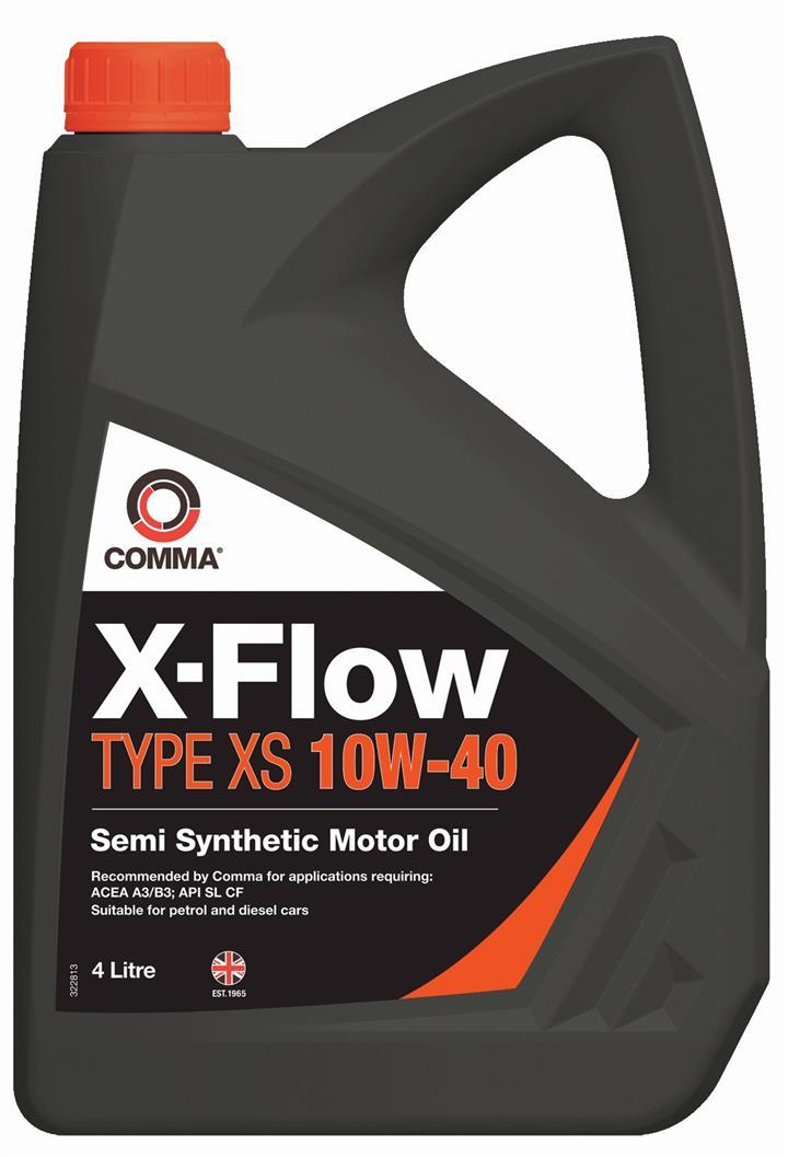 Моторне масло X-FLOW TYPE XS 10W-40 4 л COMMA XFXS4L.