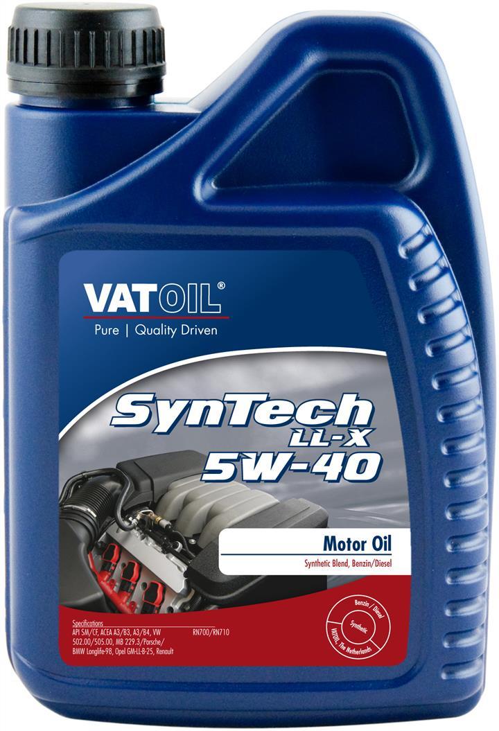 Моторне масло SYNTECH LL-X 5W-40 1 л 'VATOIL 50034'.