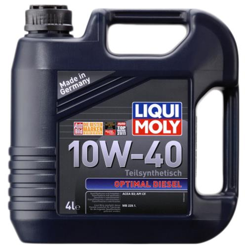 Моторне масло OPTIMAL DIESEL 10W-40 4 л LIQUI MOLY 3934.