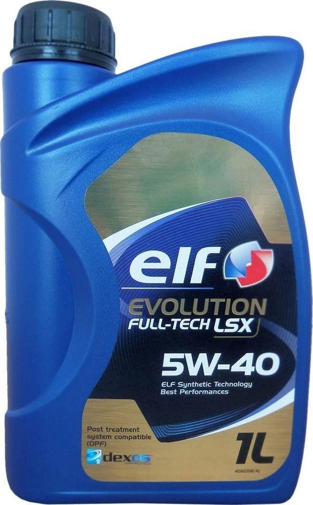 Моторное масло EVOLUTION FULL-TECH LSX 5W-40 1 л 'ELF 194891'.
