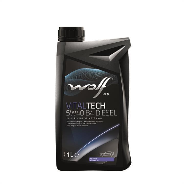 Моторное масло VITALTECH DIESEL 5W-40 1 л на SKODA OCTAVIA A5 'WOLF 8333903'.
