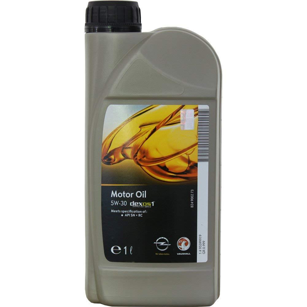 Моторне масло DEXOS 1 GEN 2 5W-30 1 л 'GM 95599919'.