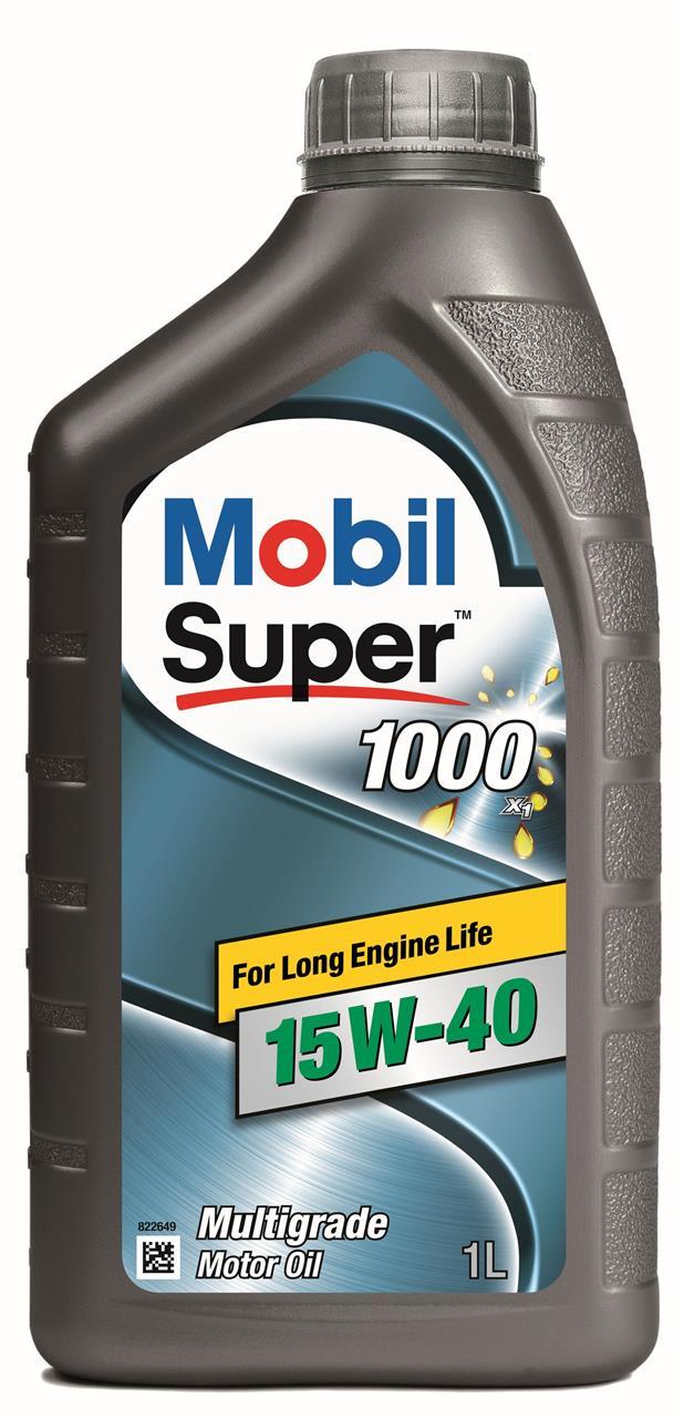 Моторне масло SUPER 1000 X1 15W-40 1 л на Мазда МХ6 'MOBIL 152571'.