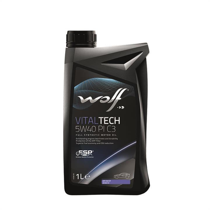 Синтетическое моторное масло VITALTECH PI 5W-40 1 л на Сеат Толедо 'WOLF 8302817'.