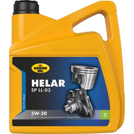 Моторне масло HELAR SP LL-03 5W-30 4 л 'KROON OIL 32303'.