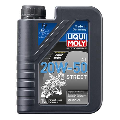 Моторне масло RACING 4T 20W-50 1 л LIQUI MOLY 1500.