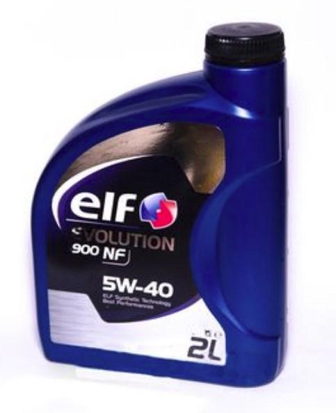 Моторне масло EVOLUTION 900 NF 5W-40 2 л 'ELF 194874'.