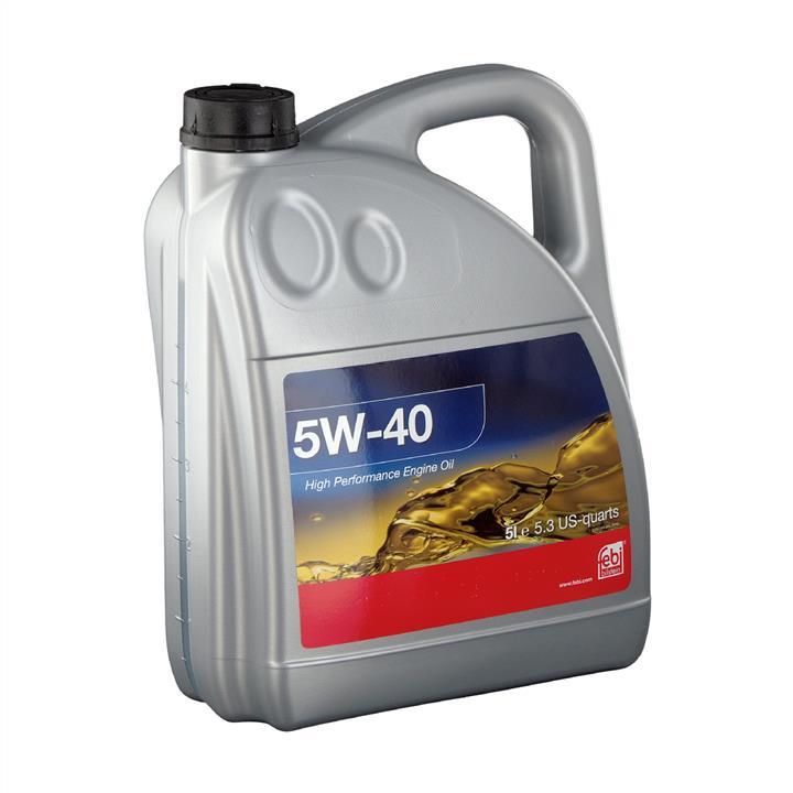 Синтетическое моторное масло ENGINE OIL 5W-40 1 л на SEAT TOLEDO 'SWAG 15 93 2936'.