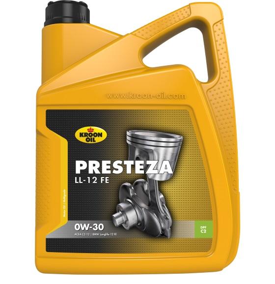 Моторне масло PRESTEZA LL-12 FE 0W-30 5 л 'KROON OIL 32524'.